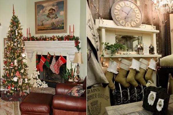 świąteczna dekoracja domu